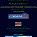 Cooper 66 webáruház
